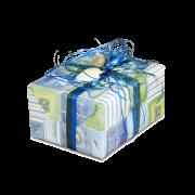 Papier cadeau en feuilles, programme pour toute l'année