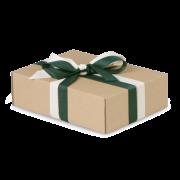 Ruban cadeau en matérie récup