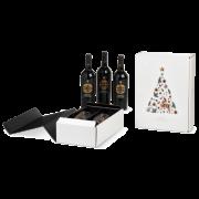 Carton cadeau pour bouteilles X-mas Tree