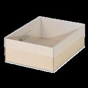GRAS-PAC Boîte à couvercle transparent