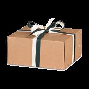Carton cadeau carré