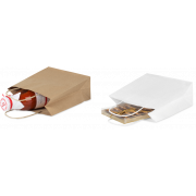Sac en papier kraft avec cordon torsadé
