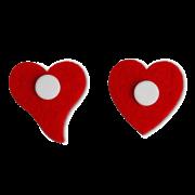 Coeur en feutre