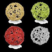 Boule en fil métallique