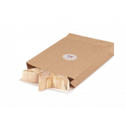 Pochette cadeau de papier kraft