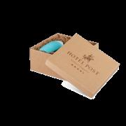 Carton cadeau imprimé - cannelure ouverte