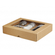 Carton cadeau sur mesure - cannelure ouverte