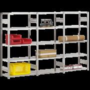 Elément de montage pour étagère enfichable utilisable des deux côtés