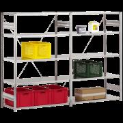 Elément de montage pour étagère enfichable / structure moyenne