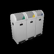 Collecteur pour matières recyclables