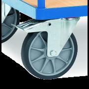 Chariot à dossier de poussée, portance 600 kg