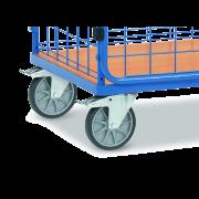 Chariot grillagé - portance 600 kg