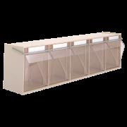 Boîte de stockage transparente