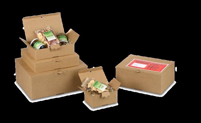QUICK-BOX® brune avec fond automatique