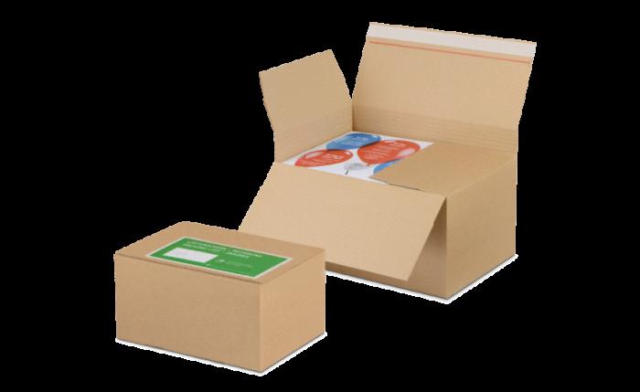 NIVEAU-BOX S à hauteur variable avec fermeture adhésive