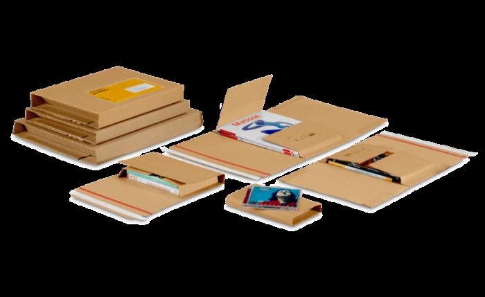 MECAWELL® A brun Emballage pour livres et à utilisation universelle