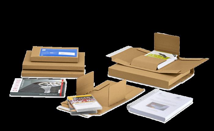 MECAWELL® EASY Emballage pour livres et à utilisation universelle