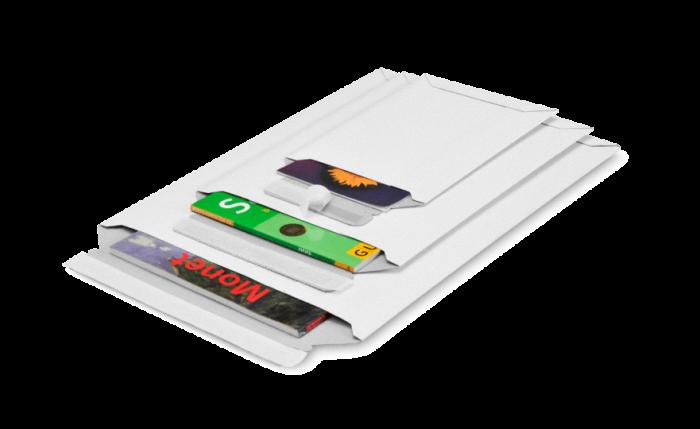 MECASTAR® S Pochette d'expédition en carton avec fermeture adhésive