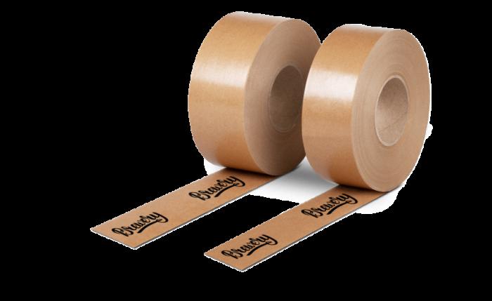 Bande gommée imprimés individuellement
