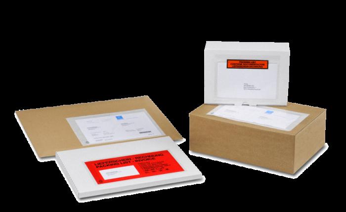 MECOUVERT® ECO Pochette adhésive porte-documents