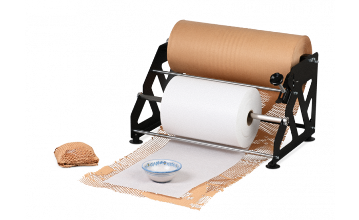 MECAWRAP Système de calage de papier