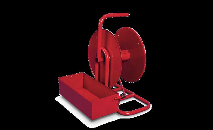 Dérouleur portable pour feuillard de cerclage,  mandrinØ  60-80 mm
