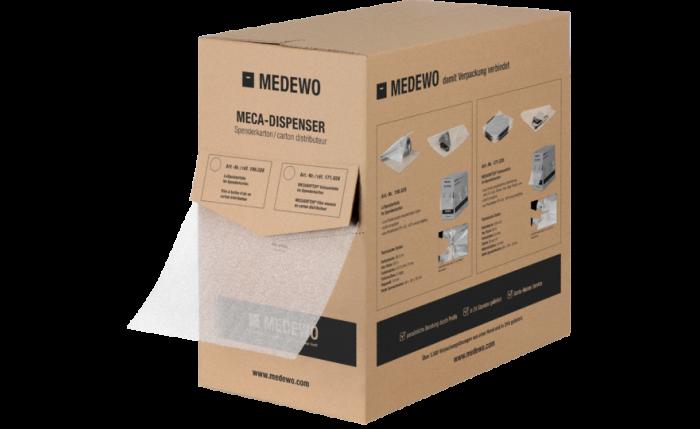 MECASOFT20® Film mousse en carton distributeur
