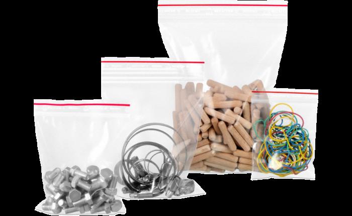 MECAFERM® Sachet à fermeture à pression neutre – 0,050 mm; 0,075 mm & 0,100 mm