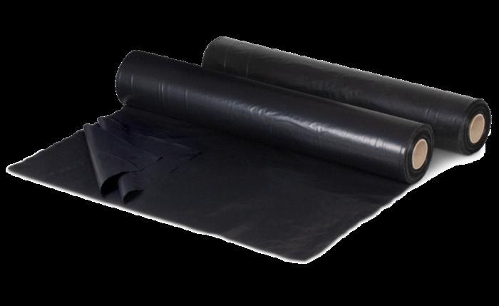 Film plat noire en LDPE à partir de matériaux recyclés