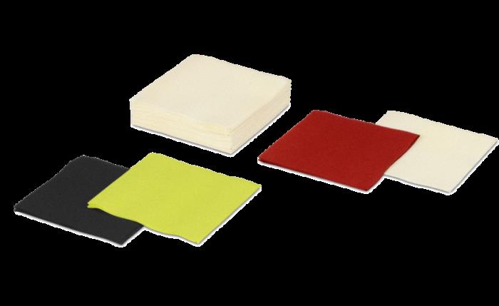 Serviette Airlaid colorée