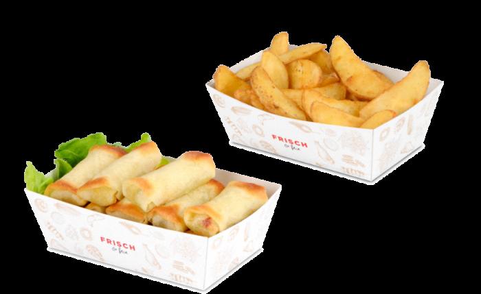 Barquette snack «FRISCH & fein»