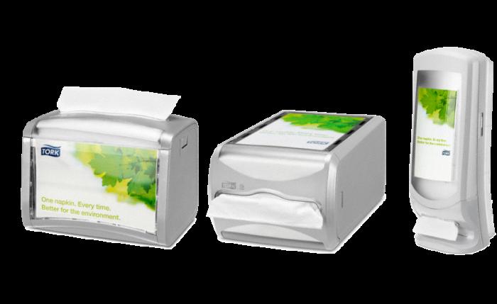 Distributeur de serviettes interfold