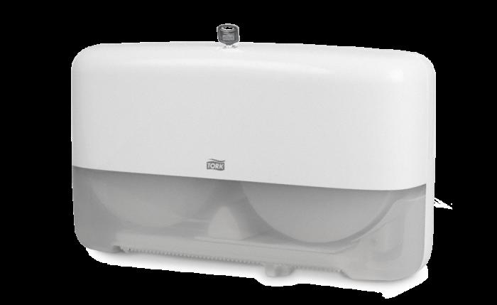 Distributeur de papier toilette pour rouleaux Mini-Jumbo