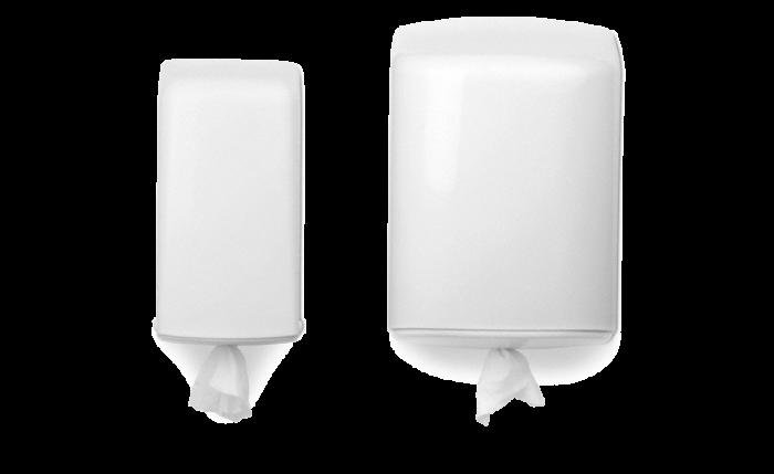 Distributeur ECO pour rouleaux d'essuie-mains et d'essuie-tout