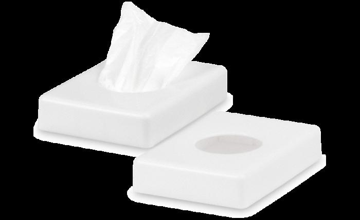 Distributeur pour sachets d'hygiène en PE-HD