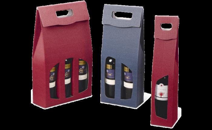 Carton à emporter pour bouteilles COUNTRY