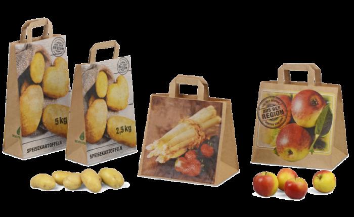 Sac à emporter «fruits & légumes» résistant à l'humidité