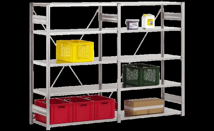 Elément de base pour étagère enfichable - structure moyenne