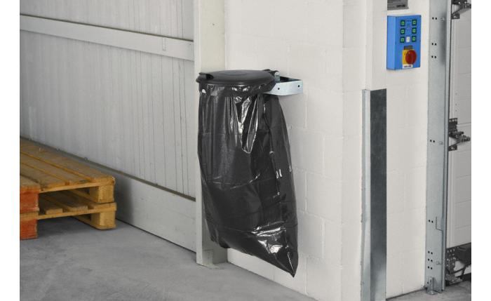 Collecteur à déchets console murale