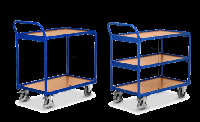 Chariot à table, portance 250 kg